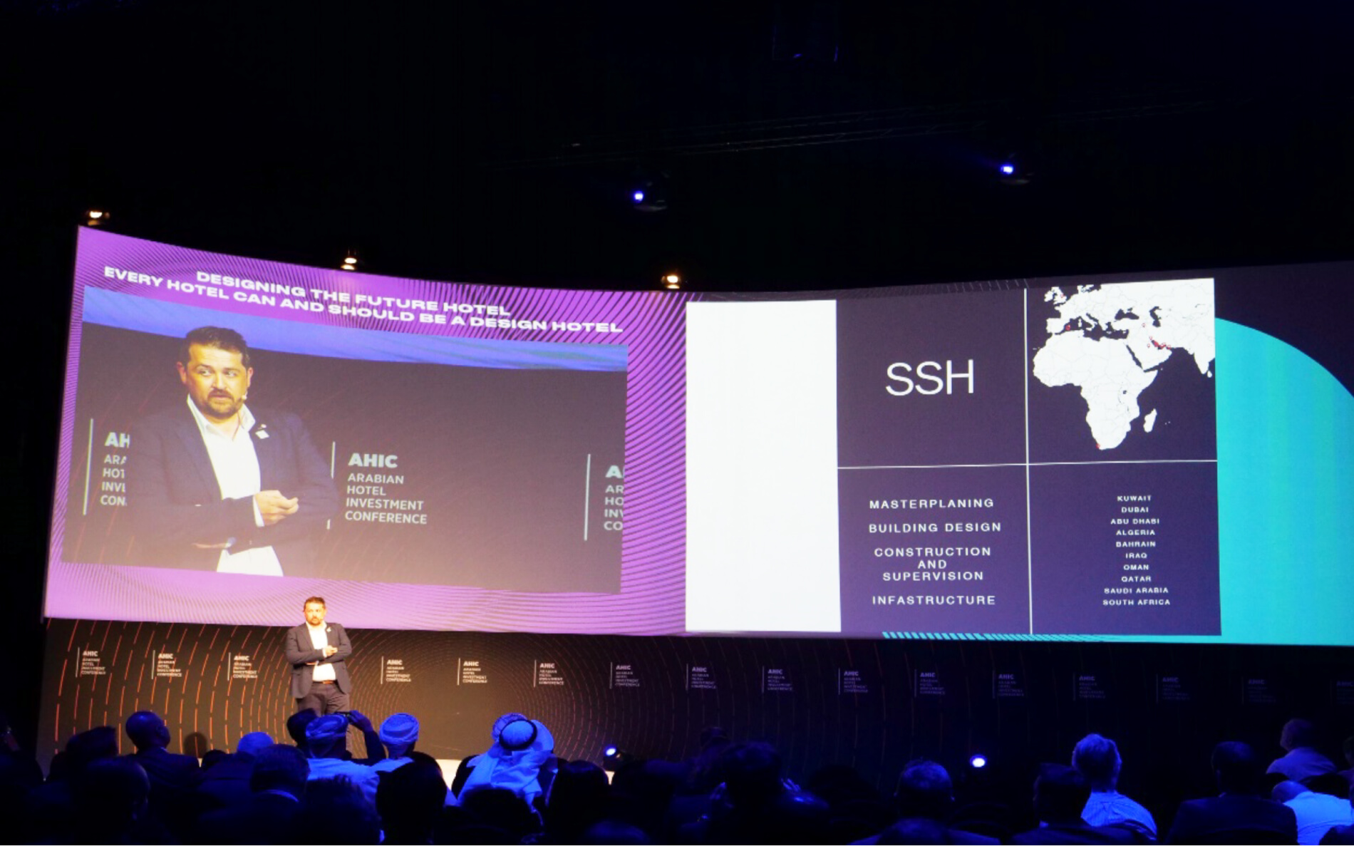 SSH Returned to RAK for AHIC 2019