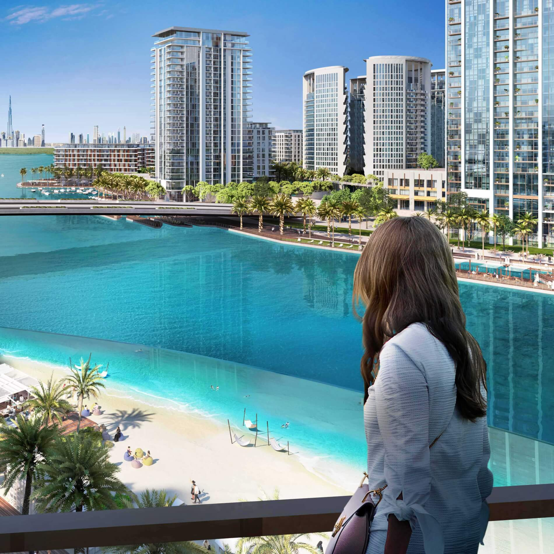 Sunset Cluster Pushes Ahead at Emaar's Creek Beach District