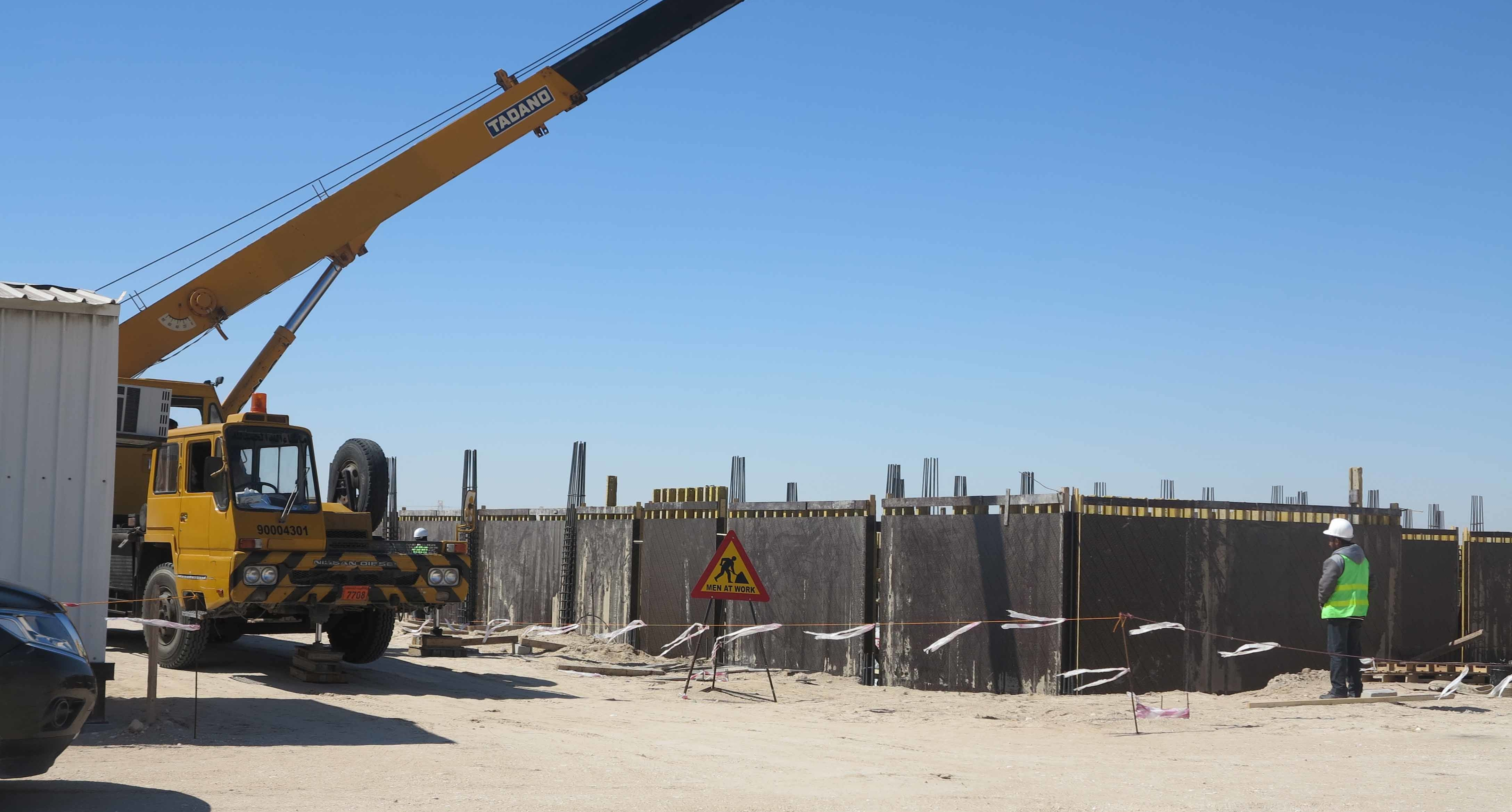 Al Shadadiya Industrial Zone Infrastructure Works 1