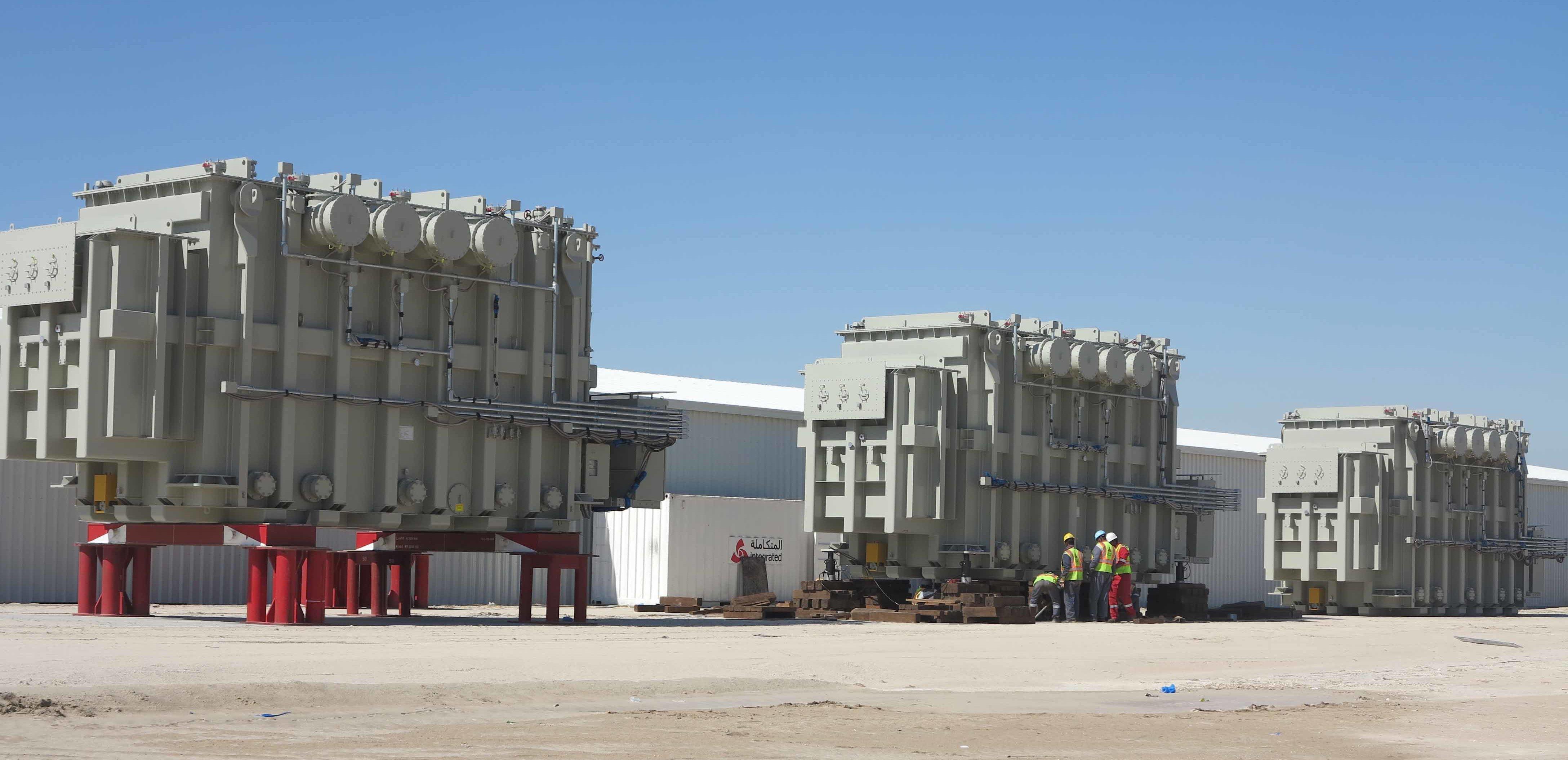 Al Shadadiya Industrial Zone Infrastructure Works 0