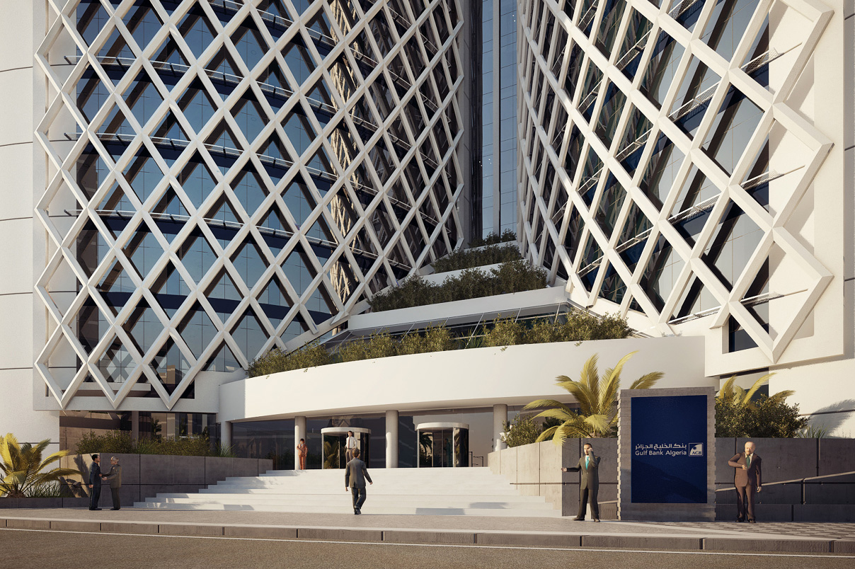 Algeria Gulf Bank Headquarters 0