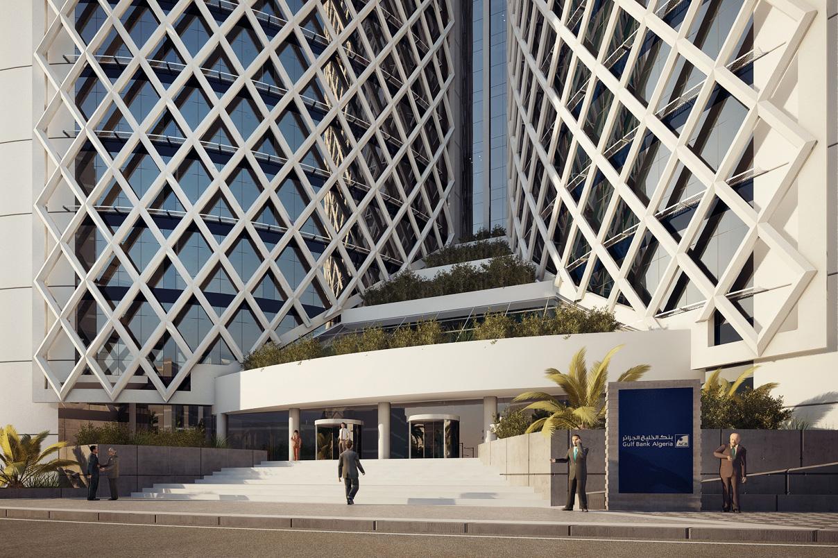 Algeria Gulf Bank Headquarters 0