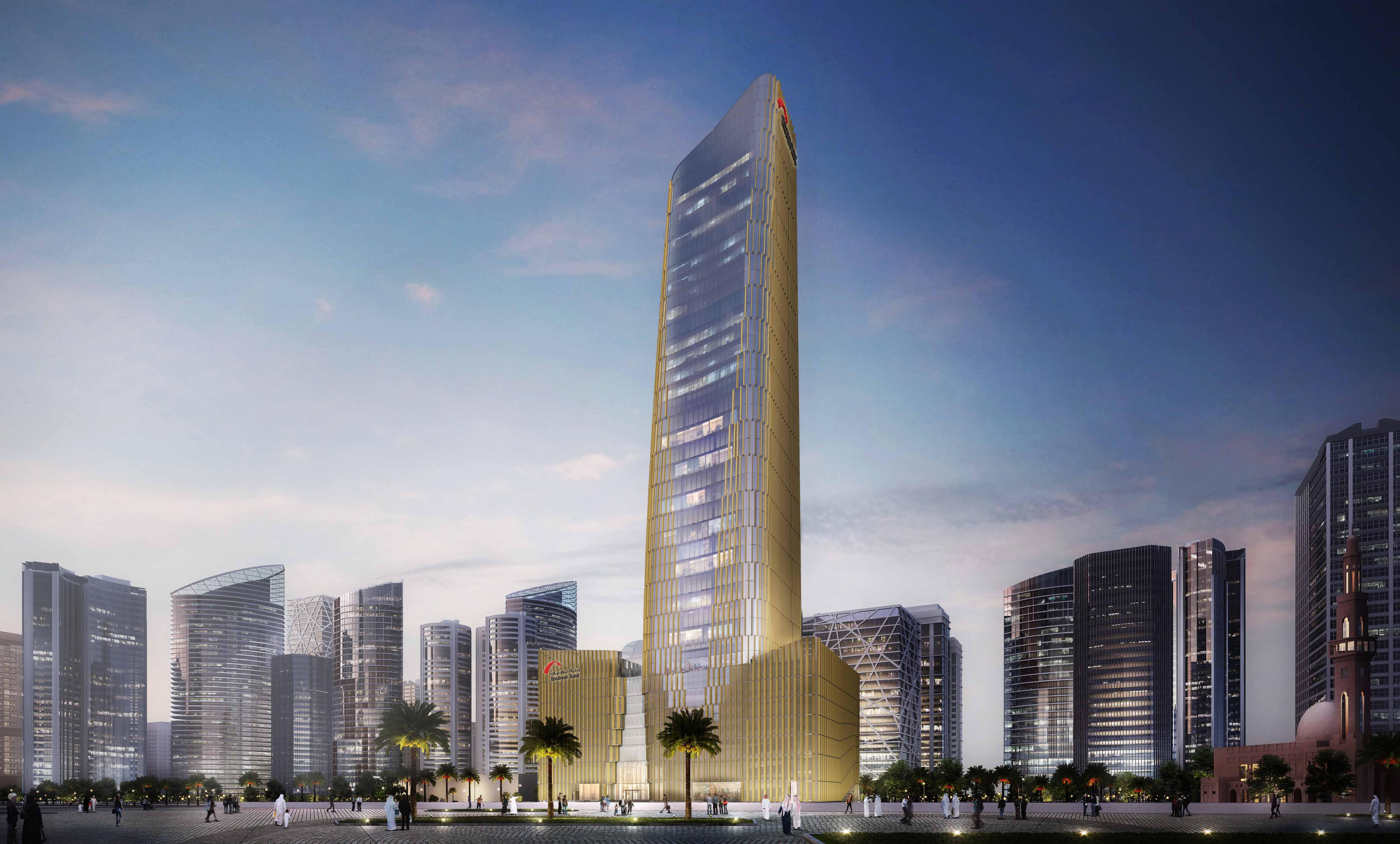 Boubyan Bank's New Headquarters Building 1