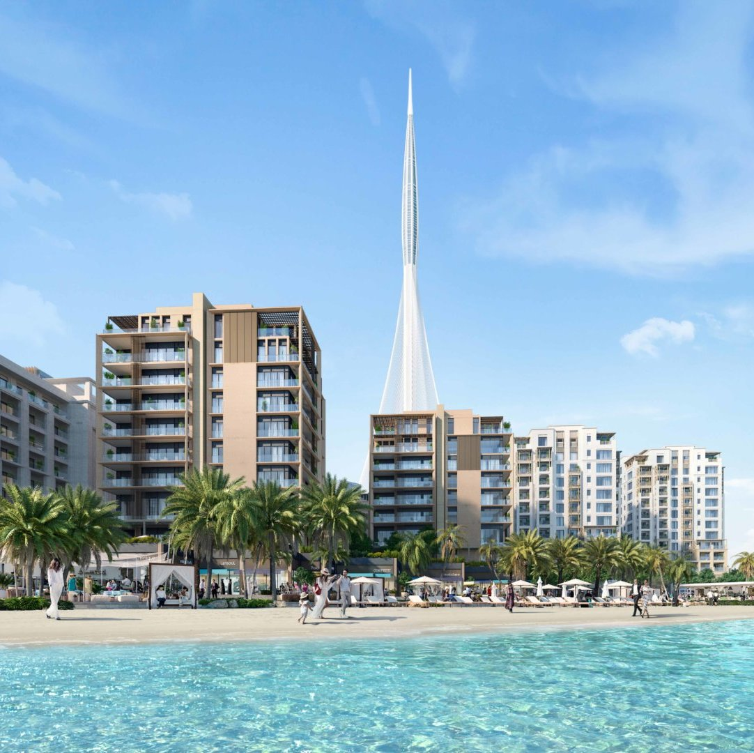 Breeze Cluster at Emaar's Creek Beach District About to Commence