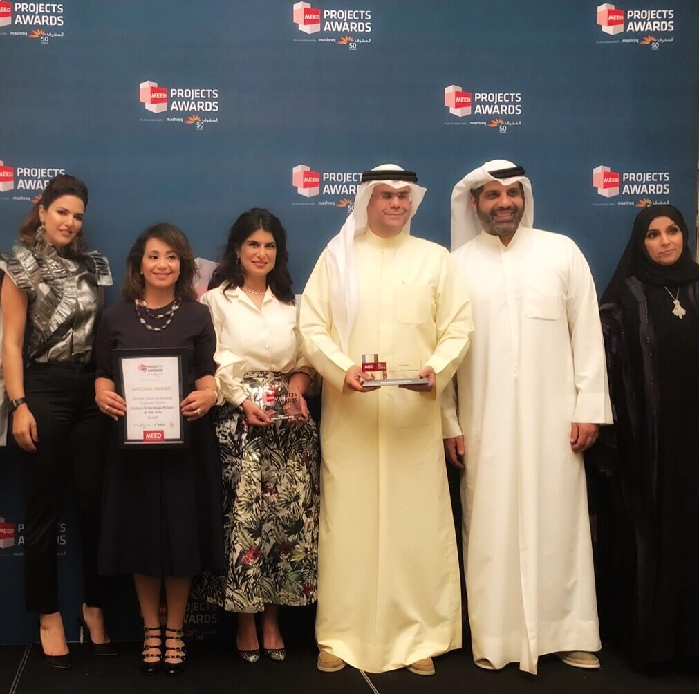JACC named Cultural & Heritage Project of the Year at MEED Projects Awards 2018