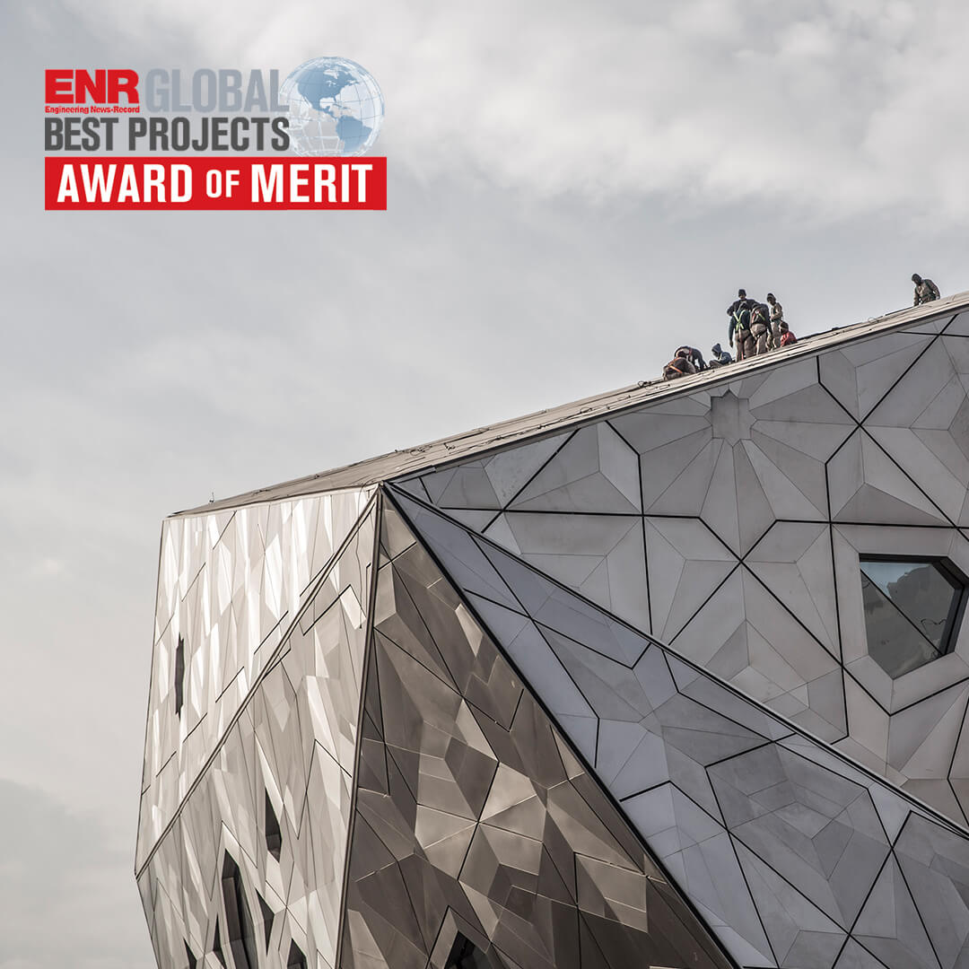 Award of Merit at ENR's Global Best Projects Awards 2017