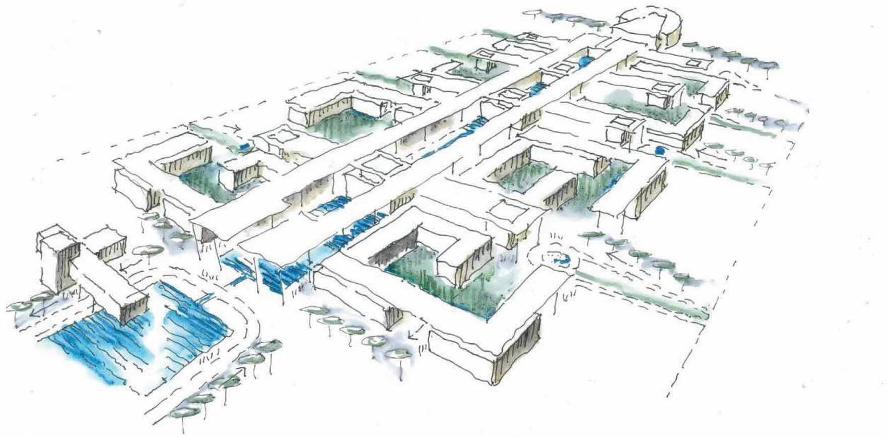 Technology, Healthcare and Education Complex Project at Jahra Governorate 0