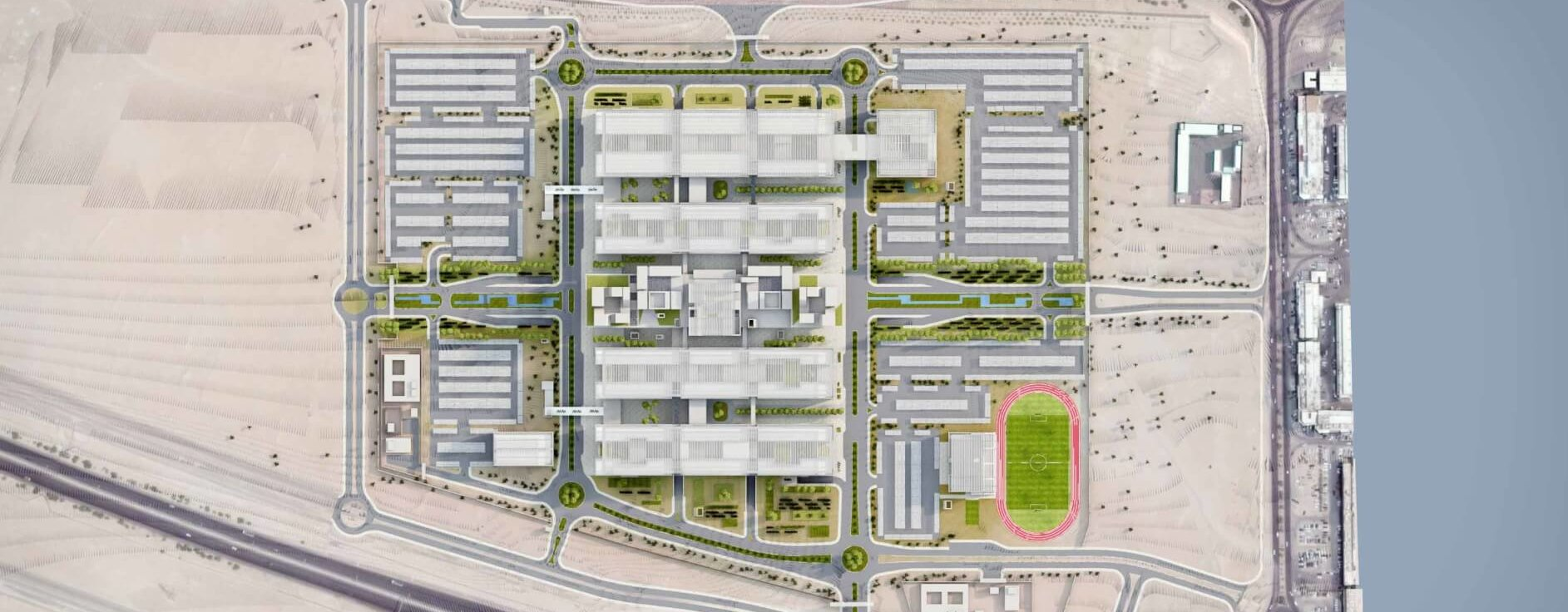 Technology, Healthcare and Education Complex Project at Jahra Governorate 1