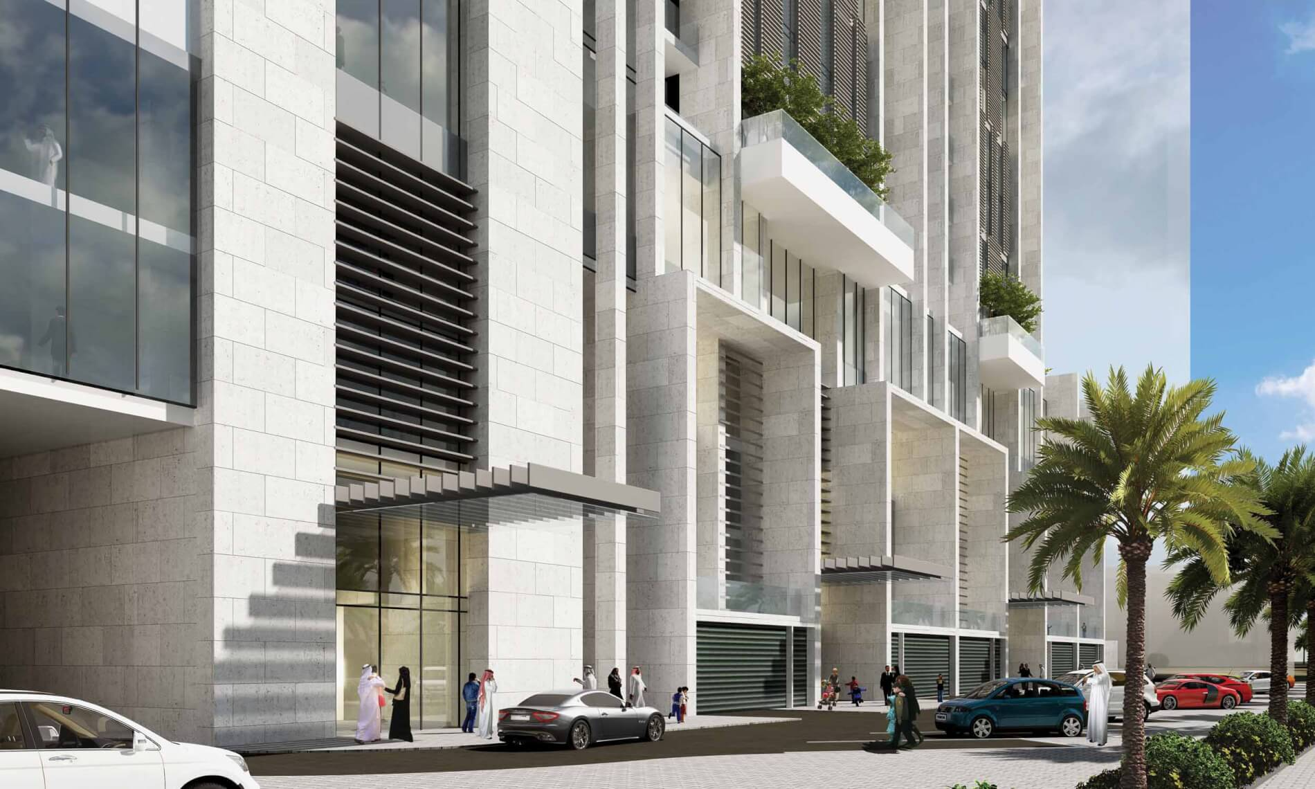 Kuwait Finance House  Residential Tower 1