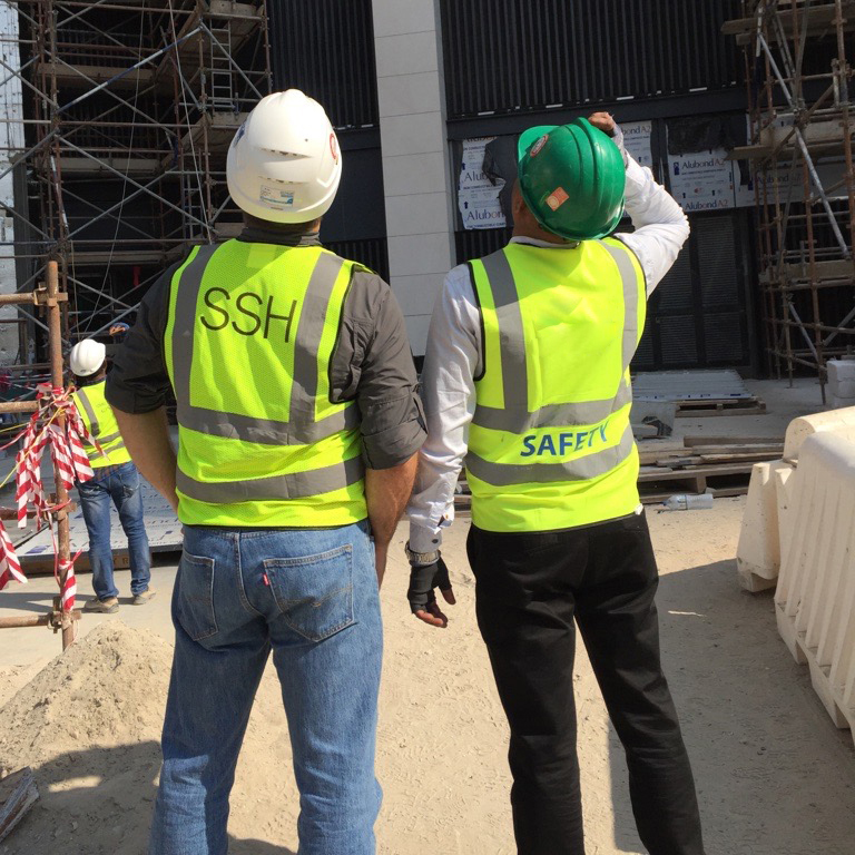 How can the industry develop digital solutions to ensure site safety?