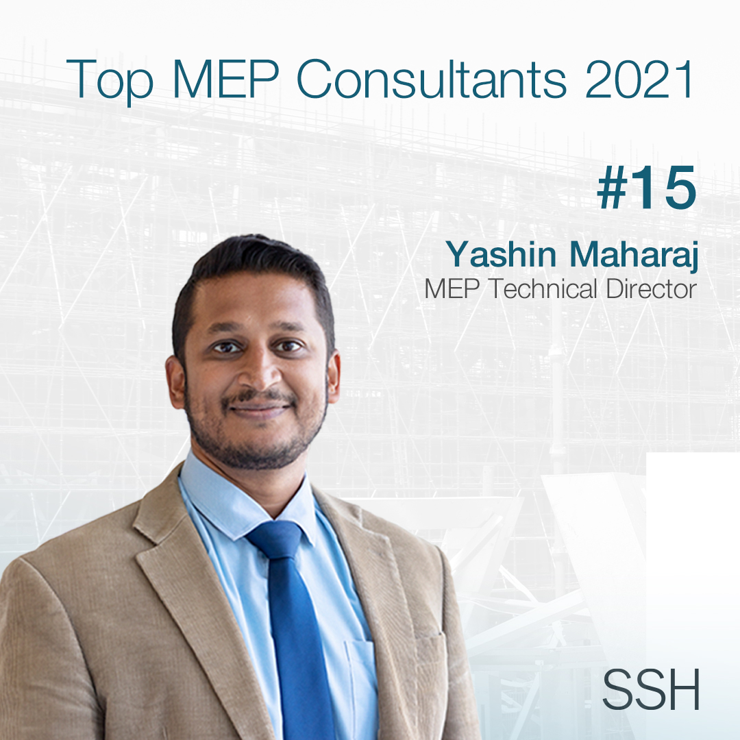 SSH 15th on Top 20 MEP Consultant 2021 Power List