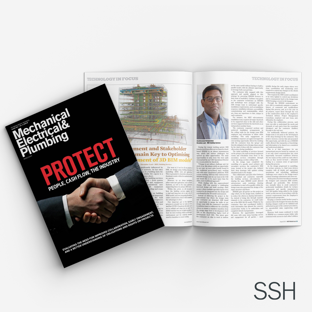 SSH features in this month's MEP Middle East Magazine